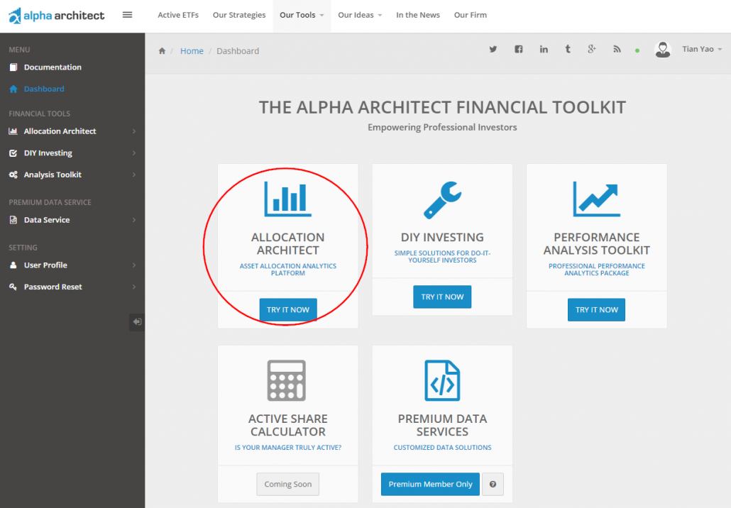 Our Asset Allocation Backtest Tool (a how to guide) -